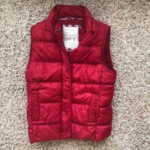 Brand new Aeropostale red puffer vest